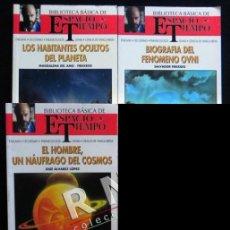 Libros de segunda mano: LOTE DE LIBROS UFOLOGÍA BIBLIOTECA ESPACIO Y TIEMPO - OVNIS EXTRATERRESTRES LIBRO MISTERIO FREIXEDO. Lote 80210343