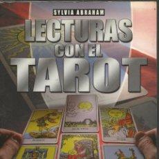 Libros de segunda mano: LECTURAS CON EL TAROT: MÁS DE 30 TIRADAS DIFERENTES PARA CONSULTAR SOBRE EL AMOR, FAMILIA, SALUD, TR. Lote 46034748