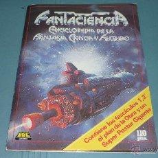 Libros de segunda mano: FANTACIENCIA. CARPETA CON FASCÍCULOS 1 Y 2 + POSTERS. EGC EDICIONES. Lote 45850873