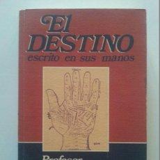 Libros de segunda mano: JOSÉ ANTONIO SANJUÁN: EL DESTINO ESCRITO EN SUS MANOS (1ª ED.). GRUPO LIBRO 88, 1991. Lote 46404109