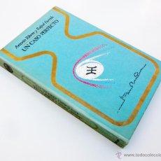 Libros de segunda mano: UN CASO PERFECTO / A. RIBERA - R. FARRIOLS / PLAZA Y JANES 1974 / ILUSTRADO / UFOLOGIA. Lote 48583717