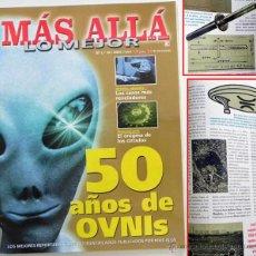 Libros de segunda mano: 50 AÑOS DE OVNIS MÁS ALLÁ REVISTA ESPECIAL UFOLOGÍA - ANTONIO RIBERA CARDEÑOSA UMMO ROSWELL MANISES. Lote 48825652