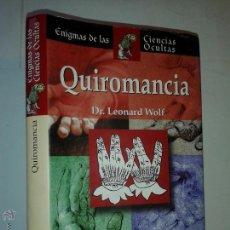 Libros de segunda mano: ENIGMAS DE LAS CIENCIAS OCULTAS QUIROMANCIA 2005 LEONARD WOLF EDIMAT LIBROS. Lote 50980408