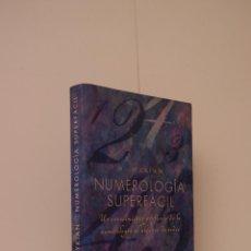 Libros de segunda mano: NUMEROLOGÍA SUPERFÁCIL. UN CONOCIMIENTO PROFUNDO DE LA NUMEROLOGÍA AL ALCANCE DE TODOS, W. MYKIAN. Lote 51722587