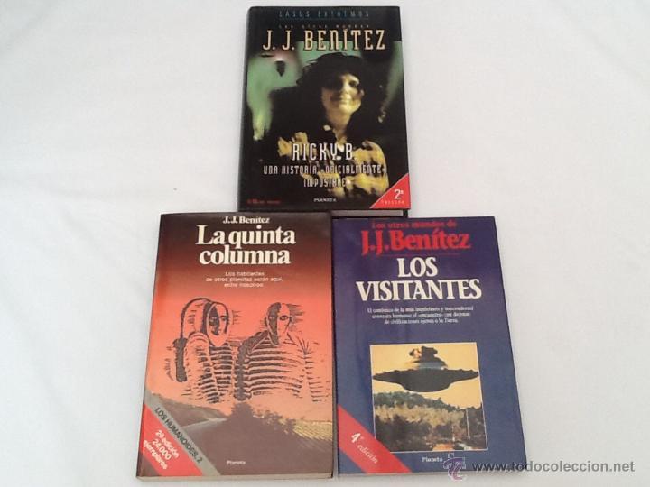 LOTE DE 3 LIBROS DE J.J.BENITEZ (Libros de Segunda Mano - Parapsicología y Esoterismo - Ufología)