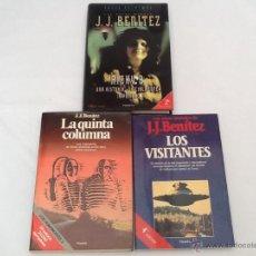 Libros de segunda mano: LOTE DE 3 LIBROS DE J.J.BENITEZ. Lote 51776613