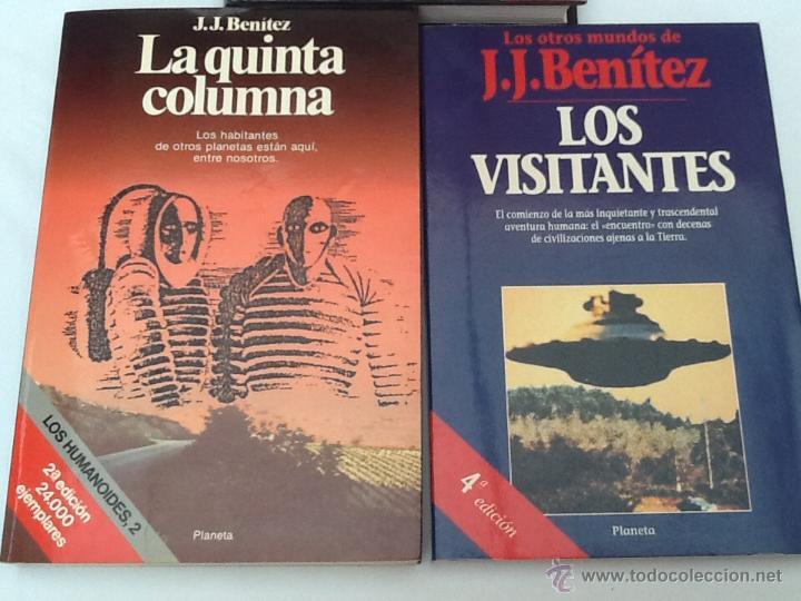 Libros de segunda mano: Lote de 3 libros de J.J.Benitez - Foto 2 - 51776613