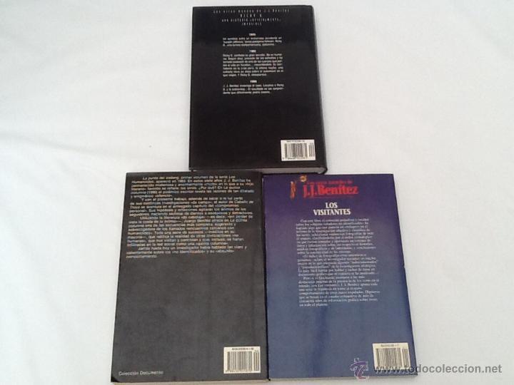 Libros de segunda mano: Lote de 3 libros de J.J.Benitez - Foto 4 - 51776613