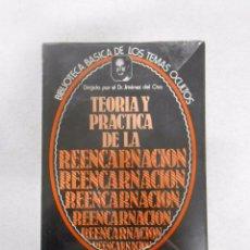 Libros de segunda mano: BIBLIOTECA DE LOS TEMAS OCULTOS 14 TEORIA Y PRACTICA DE LA REENCARNACION DR. JIMENEZ DEL OSO TDK93. Lote 33212744