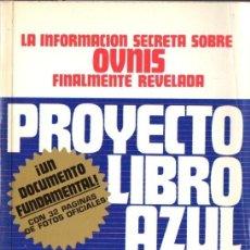 Libros de segunda mano: BRAD STEIGER : PROYECTO LIBRO AZUL (EDAF, 1977). Lote 120270530