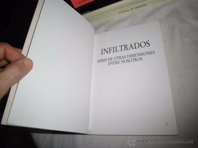 Libros de segunda mano: INFILTRADOS JOSEP GUIJARRO.SERES DE OTRAS DIMENSIONES ENTRE NOSOTROS.EDIT.SANGRILA 1994 - Foto 3 - 53569587