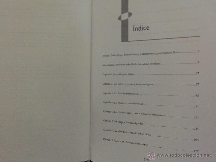 Libros de segunda mano: OVNI(S) Y CIUDADES INTRATERRENAS, por Fabio Zerpa - SIRIO - Argentina - 2011 - Foto 2 - 54085261