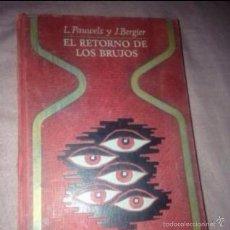 Libros de segunda mano: EL RETORNO DE LOS BRUJOS. Lote 54277915
