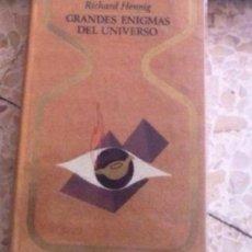 Libros de segunda mano: GRANDES ENIGMAS DEL UNIVERSO. Lote 54277976