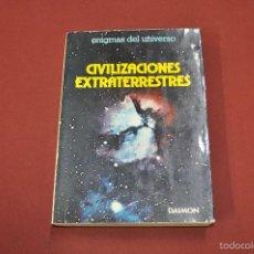 Libros de segunda mano: CIVILIZACIONES EXTRATERRESTRES ENIGMAS DEL UNIVERSO - FRANÇOIS BIRAUD JEAN-CLAUDE RIBES -. Lote 55318103