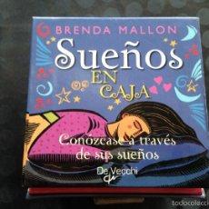 Libros de segunda mano: SUEÑOS EN CAJA. Lote 58286518