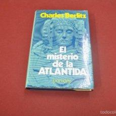 Libri di seconda mano: EL MISTERIO DE LA ATLANTIDA - CHARLES BERLITZ - POMAIRE - UFB. Lote 59849416