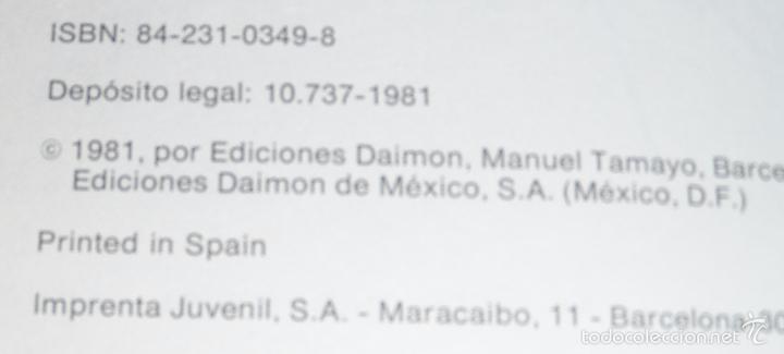 Libros de segunda mano: Visionarios, Místicos y Contactos Extraterrestres - Salvador Freixedo - Daimon (1981) - Foto 2 - 60067831