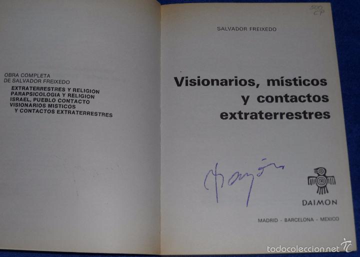 Libros de segunda mano: Visionarios, Místicos y Contactos Extraterrestres - Salvador Freixedo - Daimon (1981) - Foto 3 - 60067831