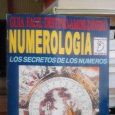Libros de segunda mano: NUMEROLOGÍA FÁCIL Y PARA TODOS. LOS SECRETOS DE LOS NÚMEROS - LEON KLEIN - Nº 1. Lote 62759940