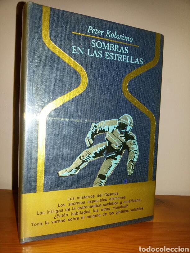 SOMBRAS EN LAS ESTRELLAS / PRIMERA EDICION 1976 / SIN SEÑALES USO (Libros de Segunda Mano - Parapsicología y Esoterismo - Ufología)