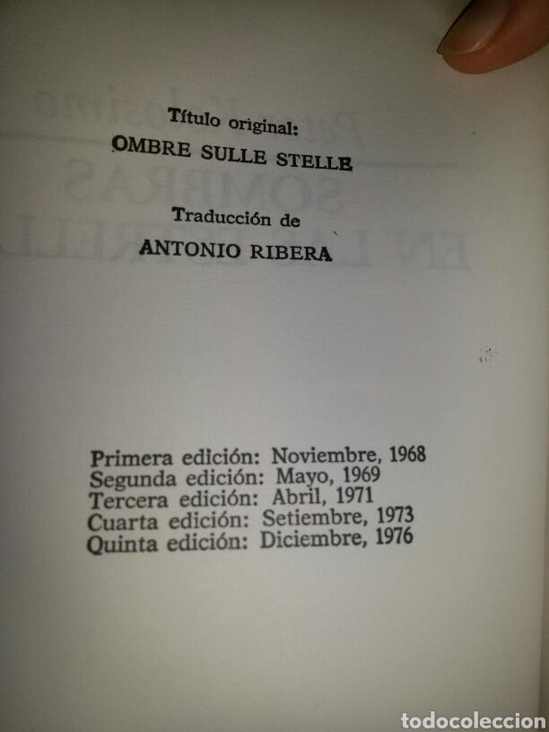 Libros de segunda mano: SOMBRAS EN LAS ESTRELLAS / Primera edicion 1976 / sin señales uso - Foto 2 - 64415262