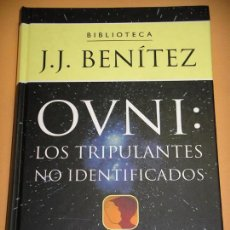 Libros de segunda mano - OVNI: Los tripulantes no identificados, J. J. Benitez, ed. Planeta, año 2000, ercom c3 - 70474785