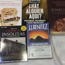 Libros de segunda mano: COLECCION DE LIBROS DE MISTERIO DE AUTORES ESPAÑOLES. Lote 72363755