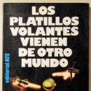 Libros de segunda mano: GUIEU, JIMMY - LOS PLATILLOS VOLANTES VIENEN DE OTRO MUNDO - BARCELONA 1980. Lote 86325258