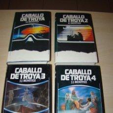 Libros de segunda mano: J.J. BENÍTEZ - CABALLO DE TROYA - 1,2,3 Y 4 - CIRCULO DE LECTORES 1ª. Lote 119202744