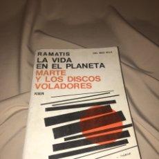 Libros de segunda mano - La vida en el planeta Marte y los discos voladores. Ramatis - 77433983