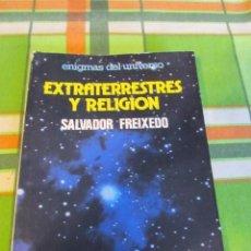 Libros de segunda mano: M69 LIBRO EXTRATERRESTRES T RELIGION. ENIGMAS DEL UNIVERSO. ED. DAIMON 1980. Lote 80362941