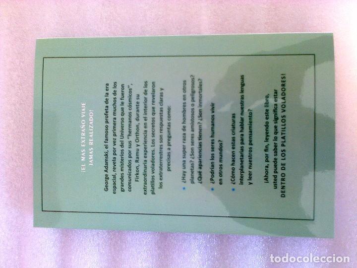 Libros de segunda mano: GEORGE ADAMSKI DENTRO DE LOS PLATILLOS VOLADORES UFOLOGIA OVNIS CONTACTADOS SUPER RARO - Foto 12 - 254369805