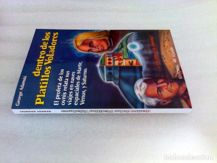 Libros de segunda mano: GEORGE ADAMSKI DENTRO DE LOS PLATILLOS VOLADORES UFOLOGIA OVNIS CONTACTADOS SUPER RARO - Foto 13 - 254369805