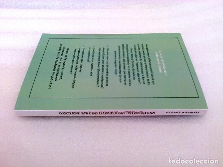 Libros de segunda mano: GEORGE ADAMSKI DENTRO DE LOS PLATILLOS VOLADORES UFOLOGIA OVNIS CONTACTADOS SUPER RARO - Foto 14 - 254369805