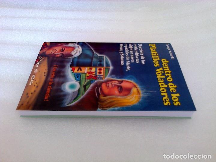 Libros de segunda mano: GEORGE ADAMSKI DENTRO DE LOS PLATILLOS VOLADORES UFOLOGIA OVNIS CONTACTADOS SUPER RARO - Foto 15 - 254369805