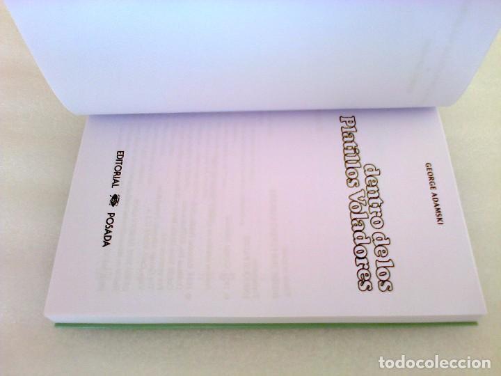 Libros de segunda mano: GEORGE ADAMSKI DENTRO DE LOS PLATILLOS VOLADORES UFOLOGIA OVNIS CONTACTADOS SUPER RARO - Foto 16 - 254369805