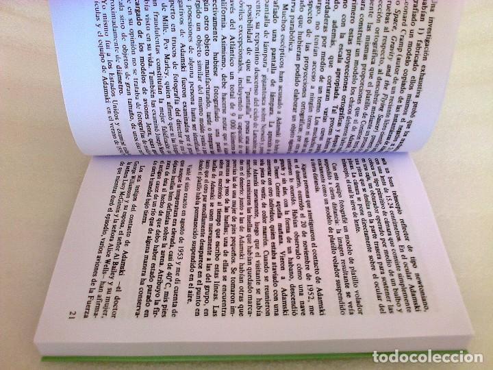 Libros de segunda mano: GEORGE ADAMSKI DENTRO DE LOS PLATILLOS VOLADORES UFOLOGIA OVNIS CONTACTADOS SUPER RARO - Foto 3 - 254369805