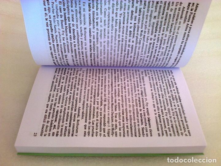 Libros de segunda mano: GEORGE ADAMSKI DENTRO DE LOS PLATILLOS VOLADORES UFOLOGIA OVNIS CONTACTADOS SUPER RARO - Foto 4 - 254369805