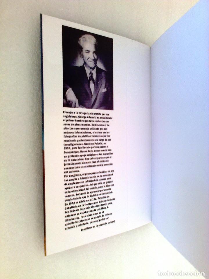 Libros de segunda mano: GEORGE ADAMSKI DENTRO DE LOS PLATILLOS VOLADORES UFOLOGIA OVNIS CONTACTADOS SUPER RARO - Foto 5 - 254369805