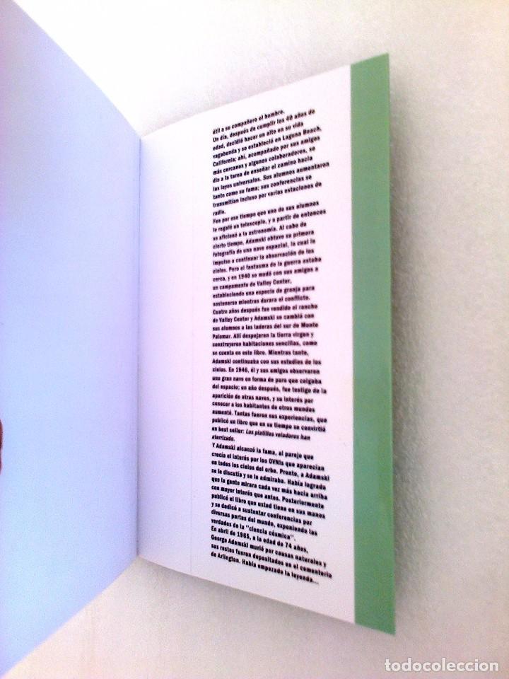 Libros de segunda mano: GEORGE ADAMSKI DENTRO DE LOS PLATILLOS VOLADORES UFOLOGIA OVNIS CONTACTADOS SUPER RARO - Foto 7 - 254369805