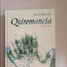 Libros de segunda mano: QUIROMANCIA KARMADHARAYA. Lote 85652668