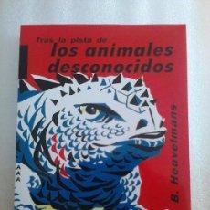 Libros de segunda mano: TRAS LA PISTA DE LOS ANIMALES DESCONOCIDOS TOMO 2 BERNARD HEUVELMANS CRIPTOZOOLOGIA. Lote 277679383