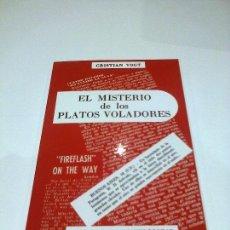 Libros de segunda mano: EL MISTERIO DE LOS PLATOS VOLADORES CRISTIAN VOGT 1956 ULTRA RARO UFOLOGIA OVNIS. Lote 126920752