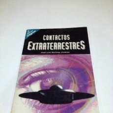 Libros de segunda mano: CONTACTOS EXTRATERRESTRES JOSE LUIS MARTINEZ JIMENEZ UFOLOGIA OVNIS RARO. Lote 111548842