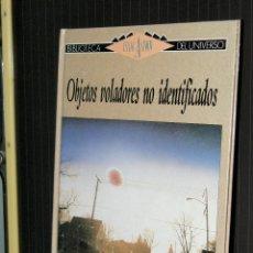 Livres d'occasion: OBJETOS VOLANTES NO IDENTIFICADOS BIBLIOTECA ISAAC ASIMOV SM 1989. Lote 91310465