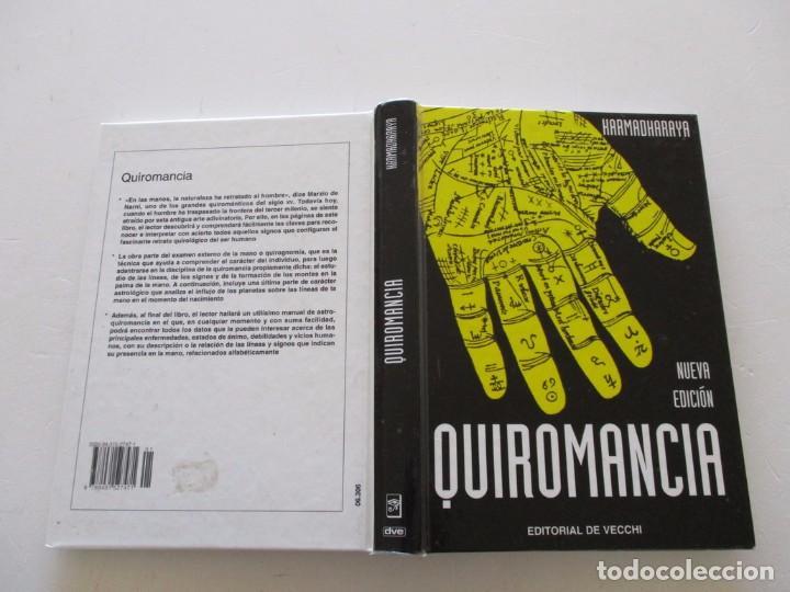 KARMADHARAYA . QUIROMANCIA. RMT81865. (Libros de Segunda Mano - Parapsicología y Esoterismo - Numerología y Quiromancia)