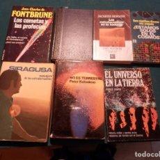 Libri di seconda mano: LOTE 7 LIBROS DE EXTRATERRESTRES (SIRAGUSA-NO ES TERRESTRE-LOS COMETAS Y LAS PROFECÍAS-COSMOS...). Lote 91689275