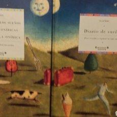 Libros de segunda mano: SUEÑOS 2 LIBROS CON ESTUCHE . Lote 92912224
