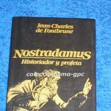 Libros de segunda mano: LIBRO NOSTRADAMUS DE JEAN-CHARLES DE FONTBRUNE 8ª EDICIÓN1982 PROFECÍAS EDITORIAL BARCANOVA MIRA !!!. Lote 94668975